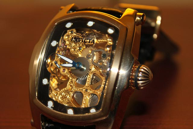 Invicta square watch