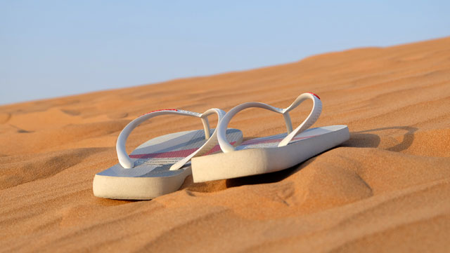 Flip-Flop Sandal of Sandy