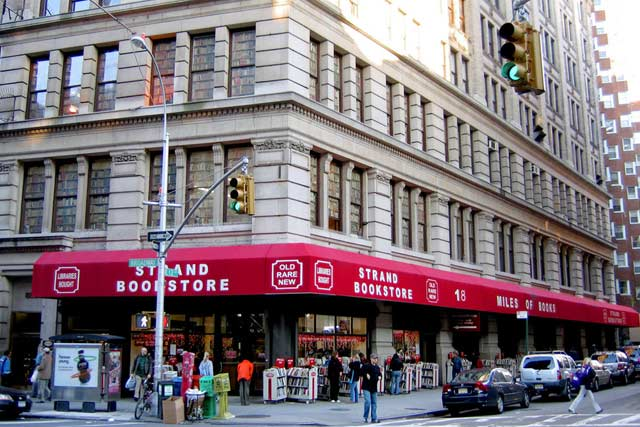Strand Bookstore Shopping in New York