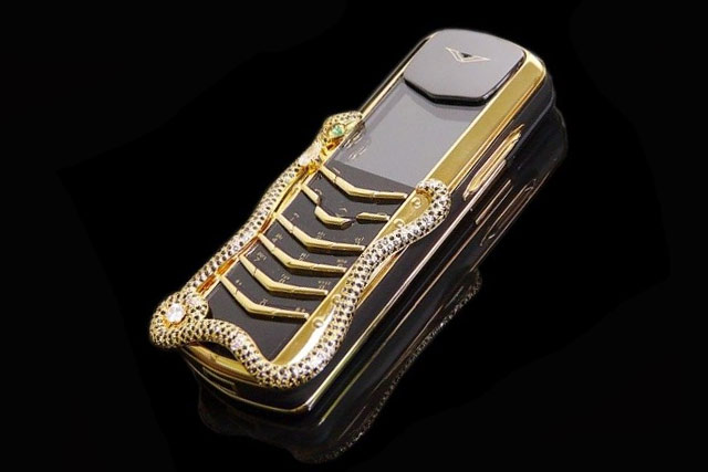 Vertu Signature Cobra Most Expensive Phone