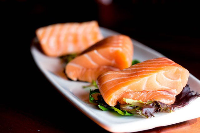 Healthy diet of fish