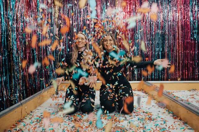 adult indoor birthday idea