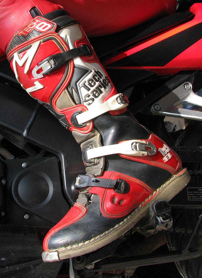 dirt bike riding boots