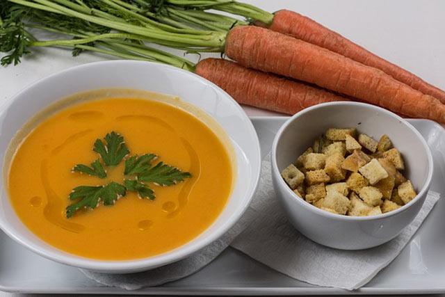 Healthy Diet includes soup