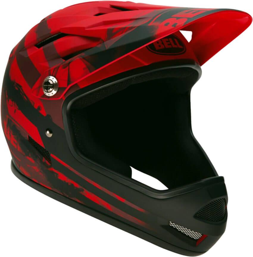 Dirt bike riding helmet