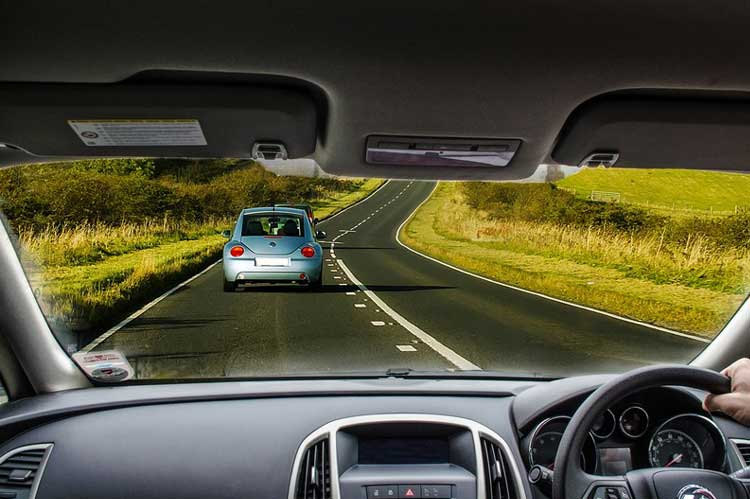 car driver distance