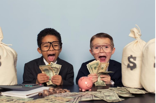 Money as a kid